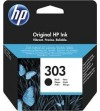 CARTUCHO H.P. Nº 303 NEGRO T6N02AE PARA HP ENVY PHOTO 6230,7130,7134,7830 - 200  PAG HEWLET PACKARD