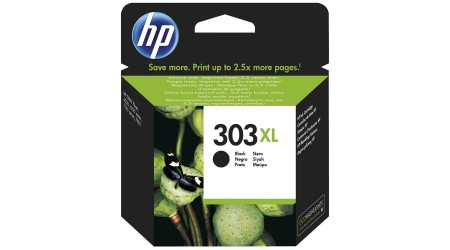 CARTUCHO H.P. Nº 303XL NEGRO T6N04AE PARA HP ENVY PHOTO 6230,7130,7134,7830 - 600  PAG HEWLET PACKARD