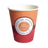 VASO CAFE CARTON 125 ML.  PAQUETE DE 100 UNIDADES