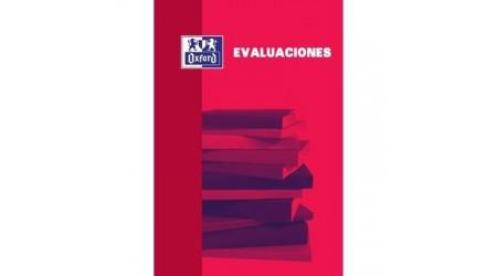 BLOC DE EVALUACION OXFORD 4X4 ROJO