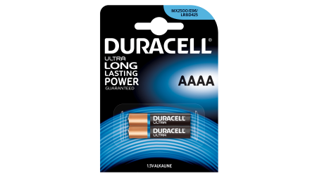 PILAS DURACELL PLUS POWER ALCALINAS AAAA MX2500 LR8 2 UNIDADES