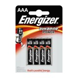 PILAS ENERGIZER ALKALINE POWER AAA LR03   4 UNIDADES