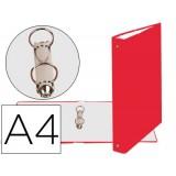 CARPETA EXACOMPTA A4 CARTON FORRADO 2 ANILLAS LOMO 30 MM