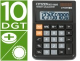 CALCULADORA CITIZEN SDC-022-S -SOBREMESA -10 DIGITOS 119,7x87x23
