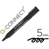 ROTULADOR Q-CONNECT MARCADOR PERMANENTE NEGRO PUNTA BISELADA 5.0 MM