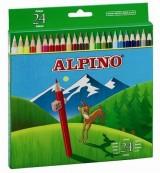 LAPICES COLORES ALPINO 658 C/ DE 24 COLORES LARGOS