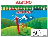 LAPICES COLORES ALPINO 659 C/ DE 30 COLORES LARGOS