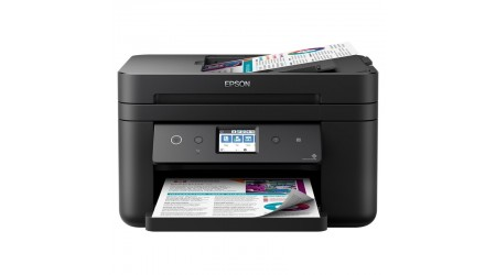 MULTIFUNCION TINTA EPSON WORKFORCE WF-2860DWF FAX, WIFI Y DUPLEX (CANON LPI 5,25 INCLUIDO)