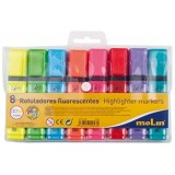 ROTULADOR FLUORESCENTE OFFICE PACK 8 COLORES