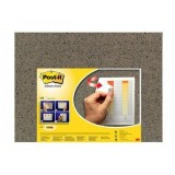 LAMINA DE CORCHO ADHESIVA POST-IT 558 COLOR MARRON IMITACION CORCHO 585MM X 460MM