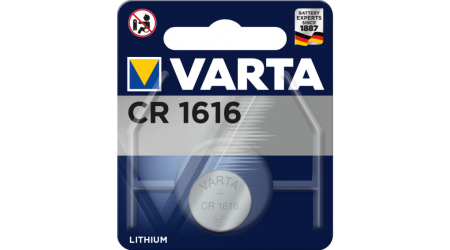 PILA BOTON VARTA CR-1616 LITIO 3V