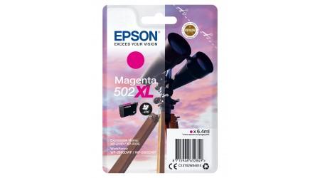 CARTUCHO EPSON MAGENTA C13T02W34 502XL PARA EPSON WP-5100/5105 - WF-2860DWF/WF-2865DFW ORIGINAL
