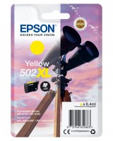 CARTUCHO EPSON AMARILLO C13T02W44 502XL PARA EPSON WP-5100/5105 - WF-2860DWF/WF-2865DFW ORIGINAL