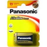 PILAS PANASONIC ALCALINA 9V 6LR61  1 UNIDAD *