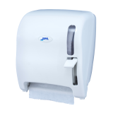 DISPENSADOR PAPEL MECHA CON PALANCA ABS BLANCO