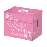 PAPEL A4  80 GR. HP OFFICE PINK REAM 500 H. CIE 153, FSC, ECOLABEL