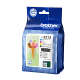 CARTUCHO BROTHER LC3213 PACK 4 COLORES BK/CY/MG/Y  DCP-J572DW