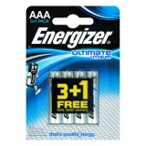 PILAS ALCALINAS ENERGIZER ULTIMATE LITHIUM AAA 3+1 UDS