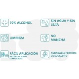DESINFECTANTE CON ALCOHOL 70% HIGIENIZANTE EN AEROSOL 750 ML.