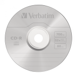 CD-R VERBATIM 700 MB CAJA JEWEL - UNIDAD - CANON LPI 0,08€ INCLUIDO