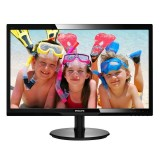 "MONITOR PHILIPS 24"" V-LINE 246V5LDSB LED FULL HD - VGA/DVI-D/HDMI"