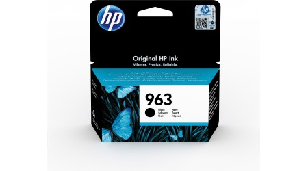 CARTUCHO H.P. Nº 963 NEGRO 3JA26AE  - 1000 PAG ORIGINAL PARA OFFICEJET PRO ALL IN ONE 9010SERIES ,9020 SERIE