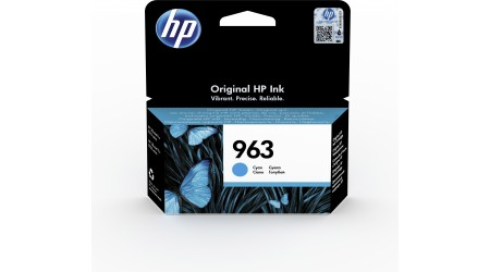 CARTUCHO H.P. Nº 963 CYAN 3JA23AE  - 700 PAG ORIGINAL PARA OFFICEJET PRO ALL IN ONE 9010SERIES ,9020 SERIE