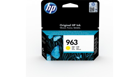 CARTUCHO H.P. Nº 963 AMARILLO 3JA25AE  - 700 PAG ORIGINAL PARA OFFICEJET PRO ALL IN ONE 9010SERIES ,9020 SERIE