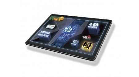 """TABLET TALIUS 10.1"""" TAL-ZIRCON-1016 4GB-64GB MOVIL 3G-4G + FUNDA CV3005-BLK REGALO"""