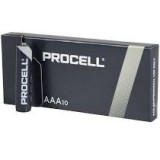 PILAS DURACELL PROCELL ALCALINAS AAA LR03 1,5V 10 UNIDADES PROFESIONAL