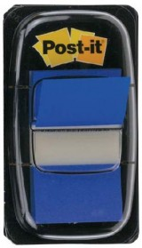 INDICE POST-IT DISPENSADOR 50U. 25,4X43,7 AZUL