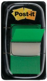 INDICE POST-IT DISPENSADOR 50U. 25,4X43,7 VERDE