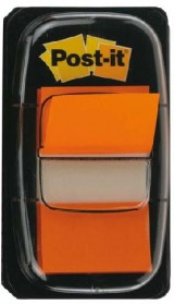 INDICE POST-IT DISPENSADOR 50U. 25,4X43,7 NARANJA