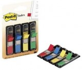 INDICES DISPENSADOR POST-IT 12X35,7 35U. POR COLOR AZUL AMARILLO