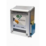 BUZON DE SUGERENCIAS DE ALUMINIO CON LLAVE OFFICE BOX 220x100x29
