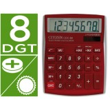CALCULADORA CITIZEN CDC-80 BURDEOS 8 DIGITOS 135 x 109 x 23,3 mm