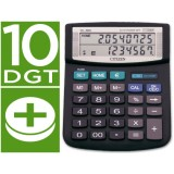 CALCULADORA SOBREMESA CITIZEN DL-860 EURO 10 DIGITOS DOBLE PANTA