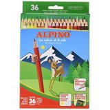 LAPICES COLORES ALPINO 600 C/ DE 36 COLORES LARGOS