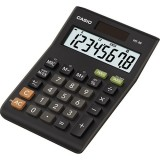CALCULADORA SOBREMESA CASIO MS-8B  8 DIGITOS 2,9 x 10 x 14 cm