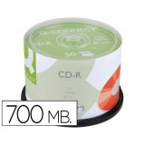 CD-R 700MB/80MIN PACK  50 Q-CONNECT - CANON LPI 4€ INCLUIDO
