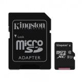 MEMORIA MICRO SD HC  16 GB KINGSTON CON ADAPTADOR CLASE 10 (CANON LPI 0.24 € INC)