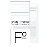 BLOC EXAMENES FOLIO 40 HOJAS 1 RAYA - HORIZONTAL 5340