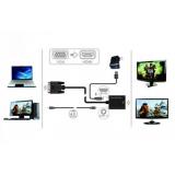 ADAPTADOR ELECTRONICO DE VGA A HDMI
