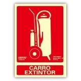 SEÑAL PVC A4 CARRO EXTINTOR