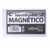 IDENTIFICADOR MAGNETICO DURABLE 40X75MM 25 UNIDADES TRANSPARENTE