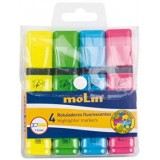 ROTULADOR FLUORESCENTE OFFICE PACK 4 COLORES