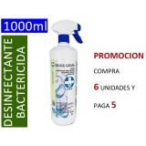 DESINFECTANTE BACTERICIDA-VIRUCIDA DEOCIL CAT-8% 1 LITRO CON PULVERIZADOR