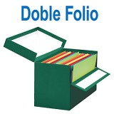 CAJA TRANSFERENCIA DOBLE FOLIO VERDE 390 x 255 x 200 mm. MARIOLA