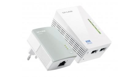 PLC/POWERLINE TP-LINK TL-WPA4220KIT KIT 2UDS 2RJ45/500MBPS WIFI-N/300MBPS