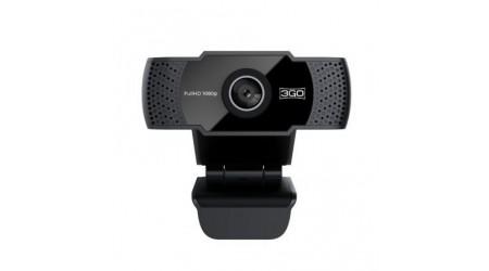 WEBCAM 3GO 1080p FULL HD - MICROFONO CON REDUCCION DE RUIDO